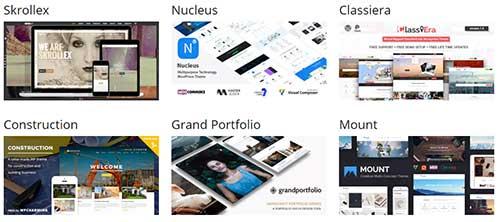Eksempler på gode WordPress tema