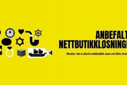 Anbefalte nettbutikkløsninger