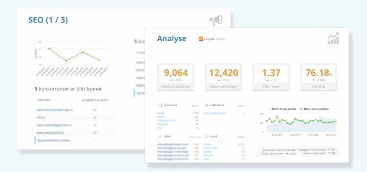 Vi tilbyr SEO analyse i WordPress