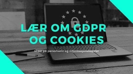 Lær om GDPR nettsider cookies