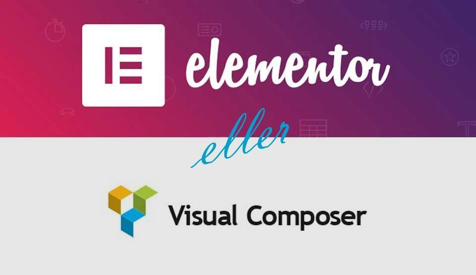 Sidebygger WordPress Visual Composer vs Elementor